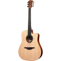 LAG TRAMONTANE T70DCE-DREADNOUGHT CUTAWAY-NATURAL(Acoust/Electri